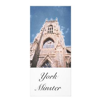 Igreja de York um marcador Planfetos Informativos Coloridos
