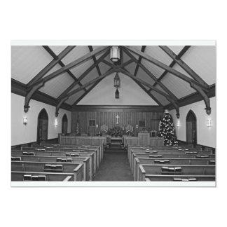 Igreja do Natal Convite 12.7 X 17.78cm