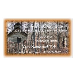 Igreja do registro cartão de visita