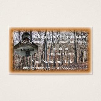 Igreja do registro cartão de visitas