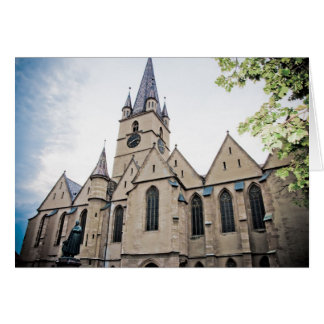 Igreja evangélica, Sibiu Cartões