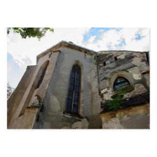 Igreja evangélica, Sibiu Cartão De Visita Grande