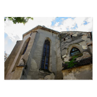 Igreja evangélica, Sibiu Modelo Cartoes De Visita