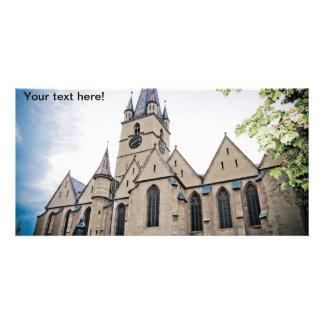 Igreja evangélica Sibiu Cartoes Com Fotos Personalizados