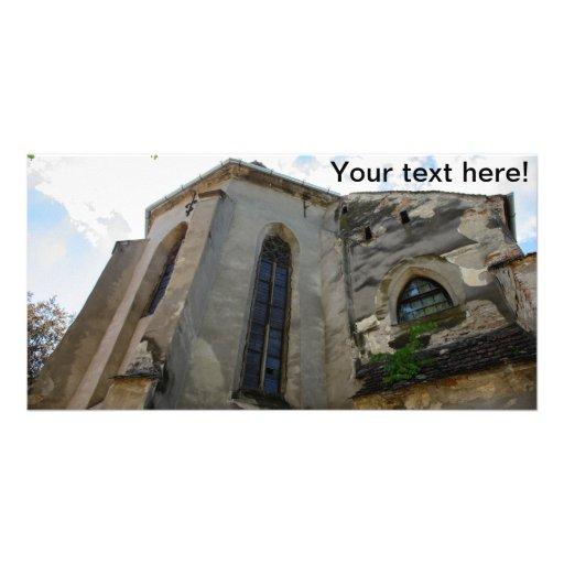 Igreja evangélica, Sibiu Cartões Com Fotos Personalizados
