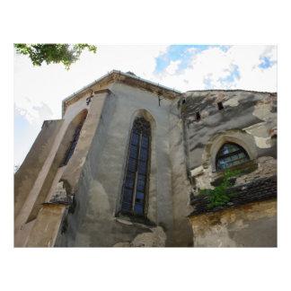 Igreja evangélica Sibiu Panfleto Personalizado