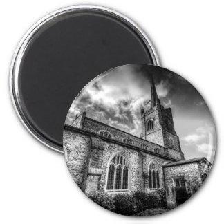 Igreja Hornchurch de St Andrews Ímã Redondo 5.08cm