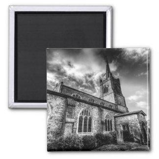 Igreja Hornchurch de St Andrews Ímã Quadrado