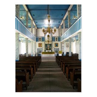 Igreja luterana de St Paul - Serbin, TX - cartão