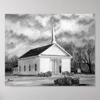 Igreja metodista da capela dos porteiros posters