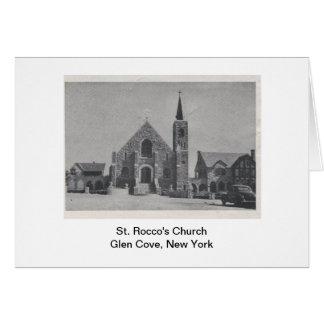 Igreja Notecard do St. Rocco Cartão Comemorativo
