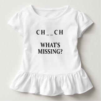 Igreja o que falta? Cristão de U R T-shirt