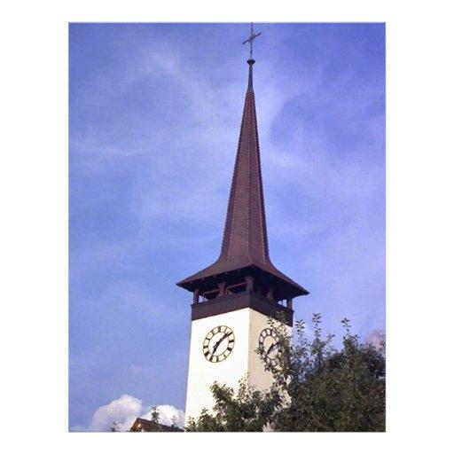 Igreja paroquial de Bonigen, Interlaken Papéis De Carta Personalizados