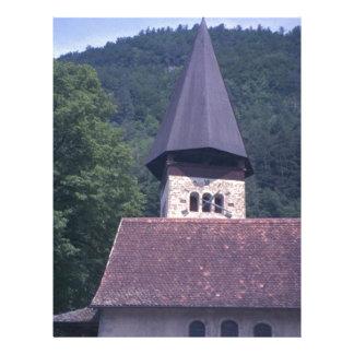 Igreja paroquial de Unterseen, Interlaken Papel De Carta