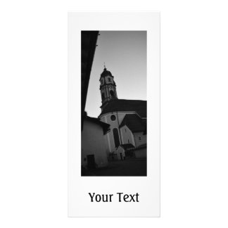 Igreja paroquial panfleto informativo