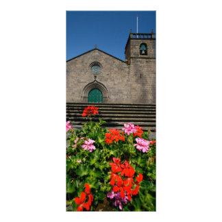 Igreja portuguesa 10.16 x 22.86cm panfleto