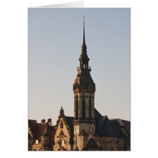 Igreja reformada Leipzig, Alemanha Cartão Comemorativo
