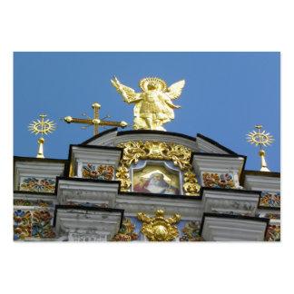 Igreja ucraniana cartão de visita grande