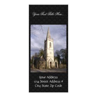 Igreja velha de Carnalway em Carnalway e em Harris Modelos De Panfletos Informativos