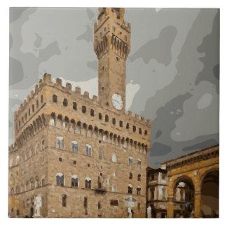 Igrejas e construções italianas antigas azulejos