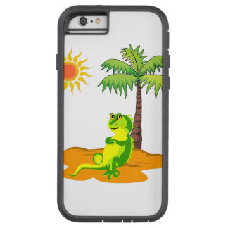 Iguana no deserto capa iPhone 6 tough xtreme