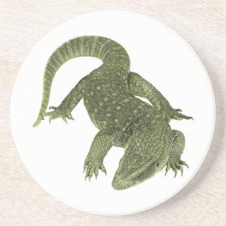 Iguana Sneaky de Galápagos Porta-copos De Arenito