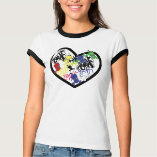 iheart-grafites camiseta