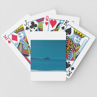 Ilha azul baralho de cartas