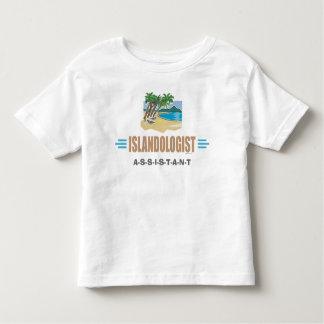 Ilha cómico da praia tshirt