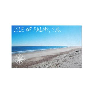 Ilha da arte das canvas das palmas