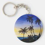 Ilha da palmeira chaveiro