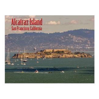 Ilha de Alcatraz cartão de San Francisco,