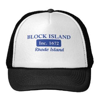 Ilha de bloco azul Rhode - T da ilha Boné