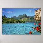 Ilha de Bora Bora, Polinésia francesa Pôsteres