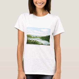 Ilha de cumprimentos do vintage de Kauai de Camiseta