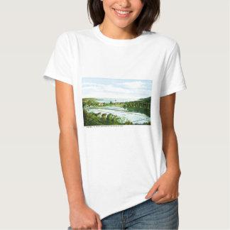 Ilha de cumprimentos do vintage de Kauai de Tshirts