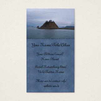 Ilha de James Cartão De Visitas
