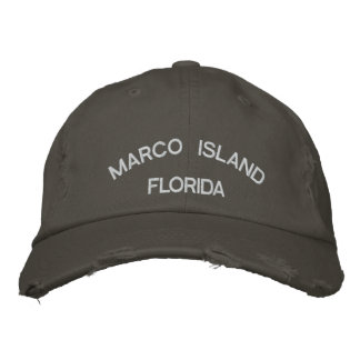 Ilha de Marco Boné Bordado