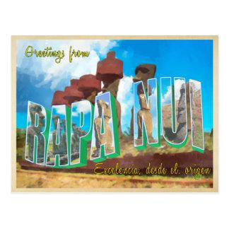 Ilha de Páscoa (Rapa Nui) Cartões Postais