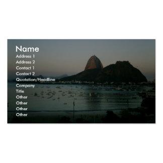 Ilha de Rio de Janeiro Modelo Cartões De Visitas