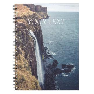 Ilha de Skye - Mealt cai caderno espiral de |