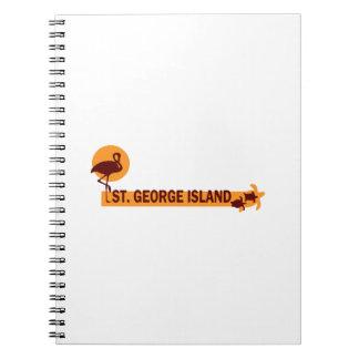 Ilha de St George Caderno Espiral