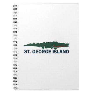 Ilha de St George Cadernos
