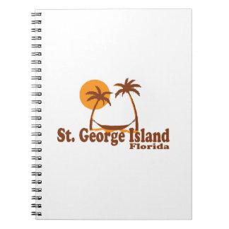 Ilha de St George Cadernos Espiral