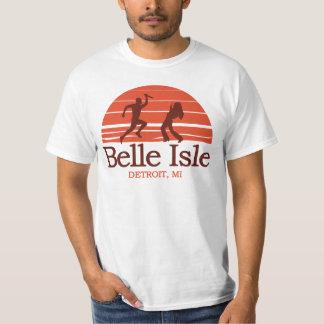 Ilha Detroit Michigan do Belle Camiseta