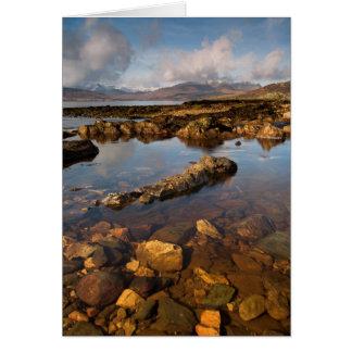 Ilha do cartão de Skye