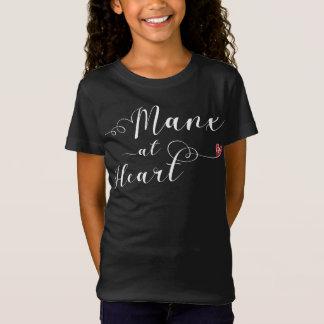 Ilha do homem Manx na camiseta do coração