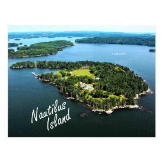 """Ilha do nautilus: """"Mim eu mesmo…"""" Cartão de Lowell"""