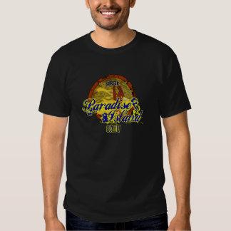 Ilha do paraíso - Oahu Camisetas