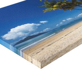 Ilha do paraíso impressão em tela